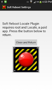 Soft Reboot Locale Plugin - screenshot