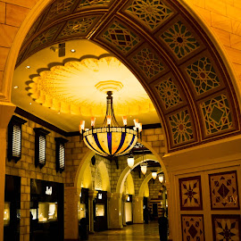 Walls & Chandelier by Emraan Bhatti - Buildings & Architecture Other Exteriors ( #uae, #dubaimall, #chandeliers, #walls, #dubai )