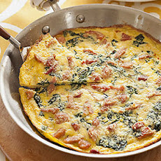 Swiss Chard and Ham Frittata