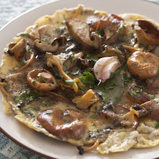 Rif Mountain Omelet With Wild Mushrooms