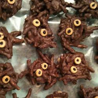 Chocolate Noodles Spider Recipes