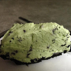 Mint Chocolate Chip Pie