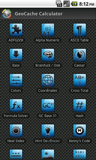 GCC - GeoCache Calculator
