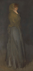 RIJKS: James Abbott McNeill Whistler: 'Arrangement in Yellow and Gray': Effie Deans 1878