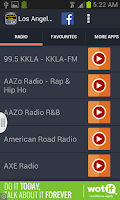 Screenshot of Los Angeles Radio