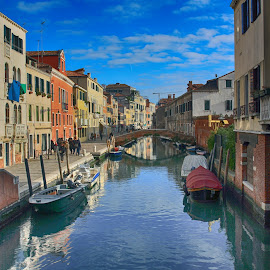 Classical Venice by Stefano Zorba - Buildings & Architecture Other Exteriors ( water, ponte, venice, calle,  )