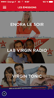 Screenshot of Virgin Radio Officiel
