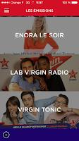 Screenshot of Virgin Radio