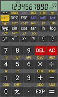 Screenshot of RealCalc Scientific Calculator