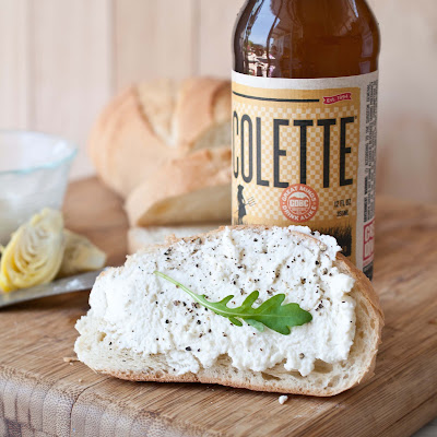 Homemade Beer Ricotta