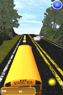 Bus Race Highway 3D Driving - screenshot