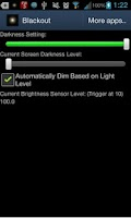 Screenshot of BlackouT Screen Dimmer