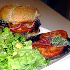 Ww 4 Points - Grilled Portobello Burger With Basil Mayo