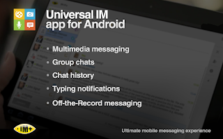 Screenshot of IM+