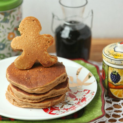 Low fat Gingerbread Pancakes