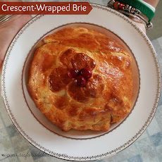 Crescent-Wrapped Brie with Cranberries and Pecans