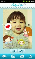 Screenshot of Baby Sticker