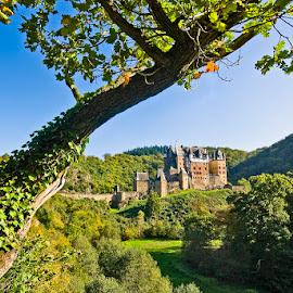 Burg Eltz by Stefan Friedhoff - Buildings & Architecture Public & Historical ( eltz, fortress, castle, germany, burg, landscape, mosel )