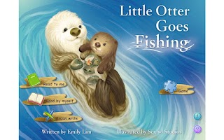 Screenshot of Little Otter Goes Fishing