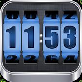 APK App 3D Rolling Clock BLUE for iOS