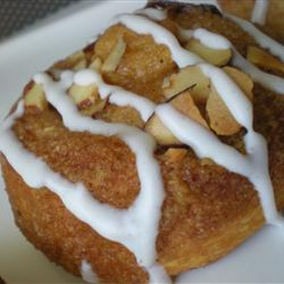 Almond Crescent Buns