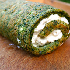 Spinach And Cheese Roulade