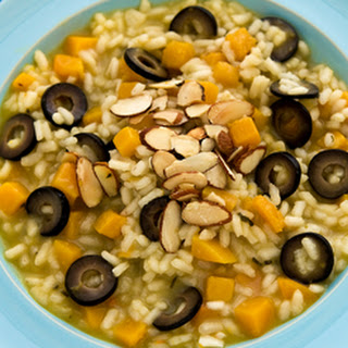 Butternut Squash and Olive Risotto