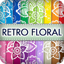 Retro Floral Wallpapers