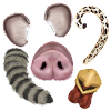 Aviary Stickers: Animals
