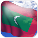 3D Maldives Flag +