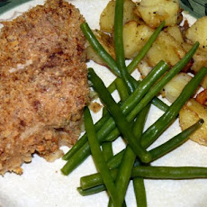 Chicken Maryland With a Baked Mustard Crust