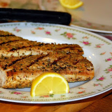 Blackened Grilled Mahi Mahi