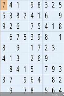 SUDOKUDROID sudoku vs tiempo - screenshot
