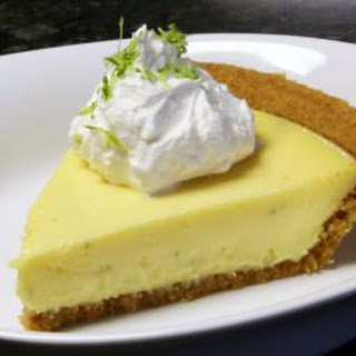 Key Lime Pie With Meringue or Cream Topping