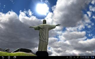 Screenshot of 3D Christ the Redeemer LWP