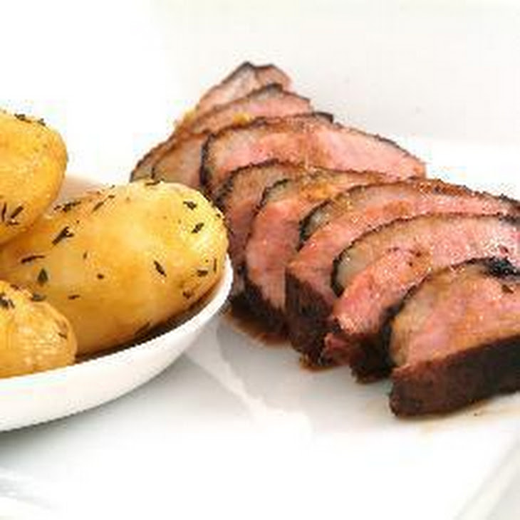 Barbecued Duck Breasts With Honey, Ginger And Soy Sauce Recipe ...
