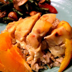 Orange-Sauced Chicken Breasts