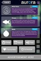 Screenshot of Aurora Dreams Sleeping Sounds