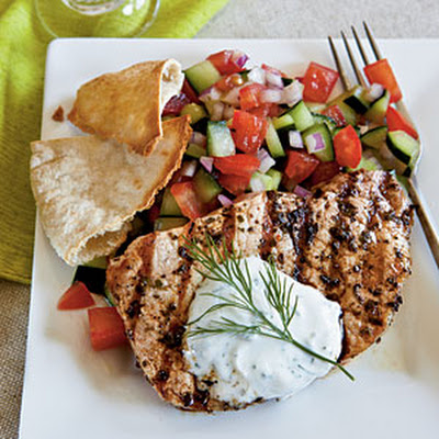 Greek-Style Pork Chops