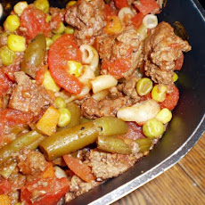 Ground Beef and Macaroni Medley