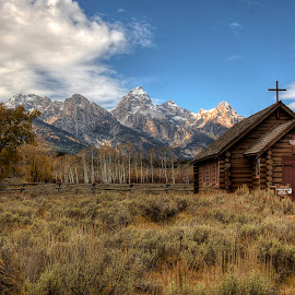 Spirit of the Tetons by Ryan Smith - Buildings & Architecture Places of Worship (  )