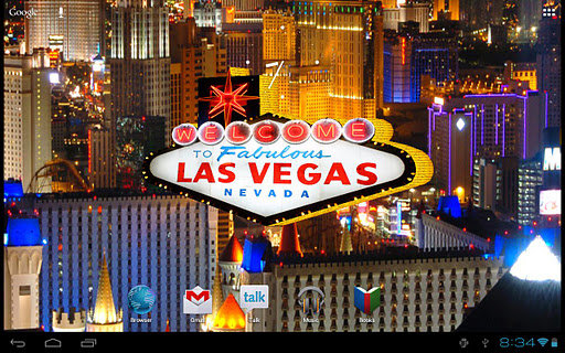 【免費個人化App】Vegas Slots Live 3D Wallpaper-APP點子