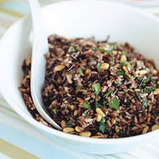 Wild Rice with Pine Nuts