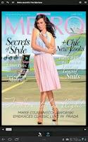 Screenshot of Metro Magazine Philippines