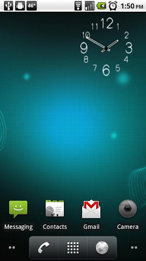 oneFoot's Clock Widget