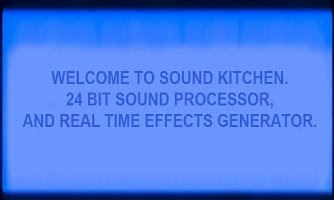 Screenshot of Sound Kitchen