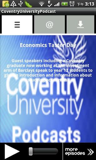 CoventryUniversityPodcast
