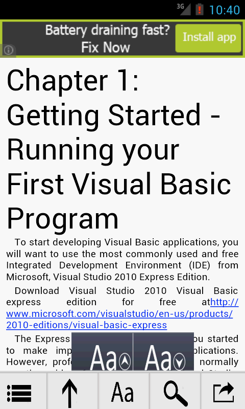 how to learn visual basic programming pdf