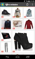 Screenshot of Showcase -Your shopping trends