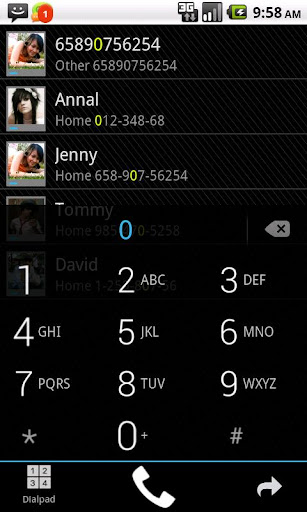 GO Contacts ICS Theme